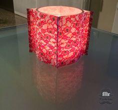 Portavelas estilo japonés - Farolillo de papel de arroz http://mrwashisan.blogspot.com.es/2015/02/portavelas-estilo-japones-farolillo-de.html