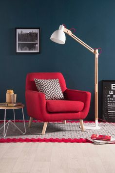 29 Ideas For Living Room Red Sofa Furniture Arrangement Red Couch Living Room, Living Room Decor, Sofa Living, Sofa Design, Interior Design, Sofa Furniture, Furniture Design, Furniture Arrangement, Home Office Design
