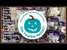 Awesome Non Food Treats At Dollar Tree - Teal Pumpkin Project -  Food Al...