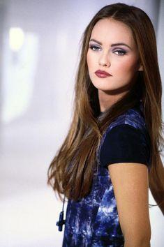Vanessa Paradis. Mother of Johnny Depp's children.