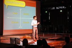 "Christopher Cunningham: ""Gamification, from theory to project"".  Frontiers 2011 - Day 2 by frontiersofinteraction, via Flickr"