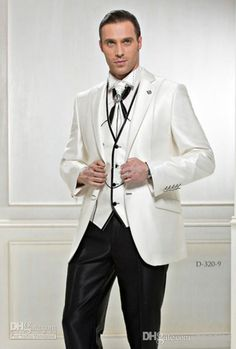 Custom Made 2014 New Design Groom Tuxedos Best Groom Tuxedos | Buy Wholesale On Line Direct from China