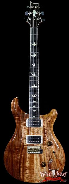 PRS PRIVATE STOCK 7045 CUSTOM 24/08 TASMANIAN BLACKWOOD TOP SWAMP ASH MIDDLE SAPELE BACK TULIP NECK
