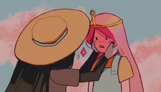 Film Anime, 5 Anime, Adventure Time Marceline, Adventure Time Art, Adventure Time Princesses, Aesthetic Art, Aesthetic Anime, Princesse Chewing-gum, Character Art