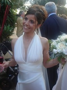 Our lovely bride wearing Vera Wang
