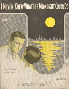 LEFF cover art 1926 I never knew what the moonlight could do