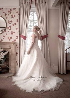 Ray Lockyer Yeovil Wedding Photographer - Bride during bridal preparation shoot at Haselbury Mill