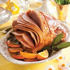 Intern Kitchen: Honey-Orange Glazed Ham