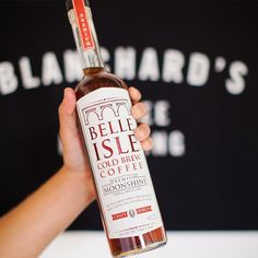 With the same amount of caffeine as a small cup of coffee a shot of Belle Isle Cold Brew Coffee is worth waking up for.  Grab a bottle from an ABC store near you and make your Friday a whole lot better.