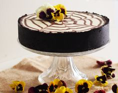 Cheesecake De Chocolate Blanco Y Oreo