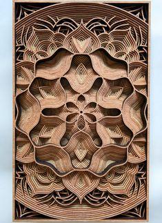 Carving - вырезание из дерева фигурных орнаментов.