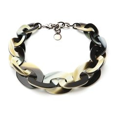 Paper Chain Resin Choker by Pono - Diane wears a lot of their necklaces on the Good Wife.