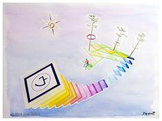 ARTWORK DETAILS   Title: Augmented geometric abstraction U   Watch Vine:   Augmented geometric abstraction U   Date:  2014   http://jgalant.com/paper