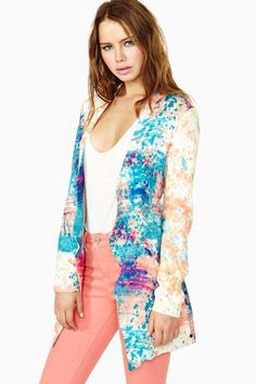 One Teaspoon Painted Lady Blazer Fashion Sale, Fashion Outfits, Womens Fashion, Fashion Trends, Blazer Fashion, Clothing For Tall Women, Clothes For Women, Diy Clothing, Tall Girl Fashion