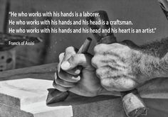 Francis Of Assisi, Craftsman, Irish, How To Make, Gifts, Handmade, Artisan, Presents, Hand Made