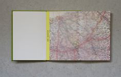 A Brighton to Paris cycling notebook. Including maps and tracing paper overlays to plan your route.