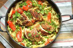 Spicy Southwest Chicken Pasta