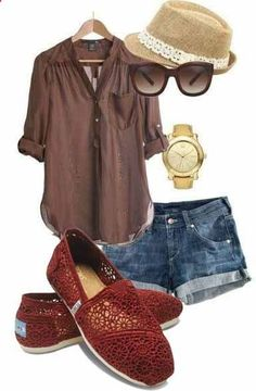 casual, but stylish Summer Wear, Spring Summer Fashion, Summer Outfits, Summer Clothes, Spring Style, Summer Time, Looks Style, Style Me, Fashion Now