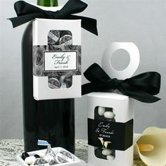 Wedding Bottle Hanger Favor Boxes
