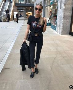 Outfits along with Loafers, contest by using sneakers, and these days a checklist of possibilities is endless. Summer Outfits, Casual Outfits, Cute Outfits, Fashion Outfits, Womens Fashion, Fashion Trends, Style Fashion, Looks Black, Black Love
