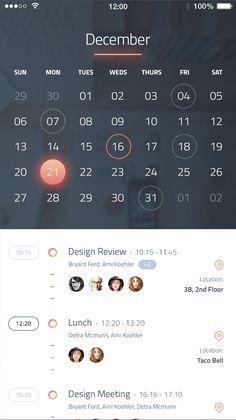 App Developed on Behance