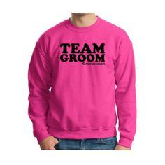 Team Groom Groomsman Crewneck Sweatshirt