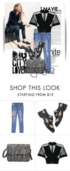 """City style"" by maja-k ❤ liked on Polyvore featuring J.Crew and Balmain"