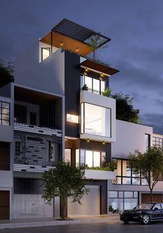 Công ty xây dựng Thanh Niên giới thiệu đến các bạn mẫu Thiết kế xây nhà phố 4,5 tầng 5x10m với những thiết kế nhà với diện tích 5x10m