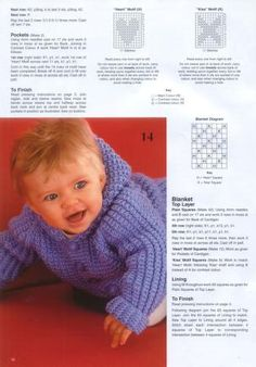 Knitting Patterns Boy Patons 382 Knitting for Baby Baby Cardigan Knitting Pattern Free, Kids Knitting Patterns, Knitted Baby Cardigan, Knit Baby Sweaters, Knitted Baby Clothes, Knitting For Kids, Baby Knits, Free Knitting, Knitting Projects