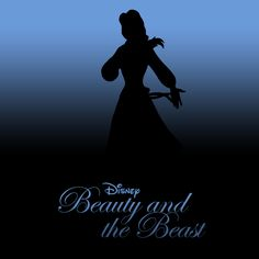 Beauty and the Beast [Gary Trousdale & Kirk Wise, 1991] «20 Minimalist Disney Covers Author: Draik Jack»