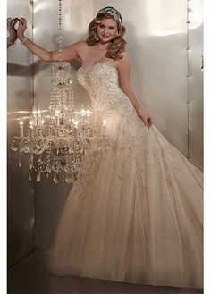 Gorgeous Tulle Sweetheart Neckline A-line Wedding Dresses A Line Wedding  Dress Sweetheart 9f79ad4a82ac