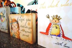Decorative PrintChicks Rule by theillustratednest on Etsy, $12.50