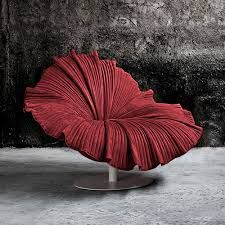 Terrific chair for the ultra modern home in the shape of a Hibiscus