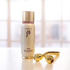 THE HISTORY OF WHOO Gold Anti-aging Massage Roller K18 Gold, V-Line K-Beauty #THEHISTORYOFWHOO
