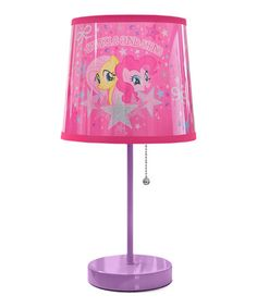 Look what I found on #zulily! My Little Pony Table Lamp by My Little Pony #zulilyfinds