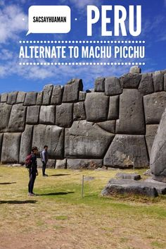 More to Inca ruins to see in Peru than Machu Picchu.  Dont miss  Sacsayhuaman near Cusco. #Peru #Cusco #Cuzco #history #ruins #Inca
