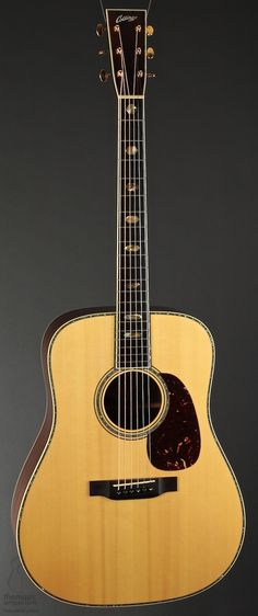 Collings D-42 with hexagon inlays.