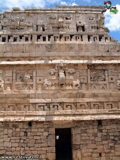 #Chichenetza maya ruins - not far from #Cancun.  Been there and climbed that rock!