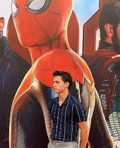 Image shared by Kaylee Kavanagh. Find images and videos about spiderman, actors and tom holland on We Heart It - the app to get lost in what you love. Siper Man, Tom Holland Zendaya, Tom Holand, Tom Holland Peter Parker, My Tom, Tommy Boy, Men's Toms, Marvel Actors, Wattpad