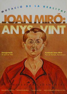 Joan Miró Original Artist Poster 1983 – Art Vintage Store Ltd Art Vintage, Original Vintage, Vintage Art Prints, Vintage Posters, Fine Art Prints, Spanish Painters, Spanish Artists, Poster Design Inspiration, Art Journal Inspiration