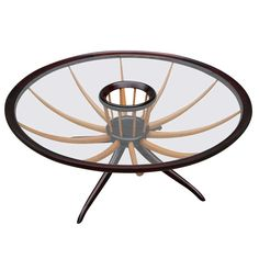 Scapinelli Spider Leg Coffee Table | From a unique collection of antique and modern coffee and cocktail tables at http://www.1stdibs.com/furniture/tables/coffee-tables-cocktail-tables/