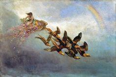 William Holbrook Beard (1824-1900), Spring (The Four Seasons).