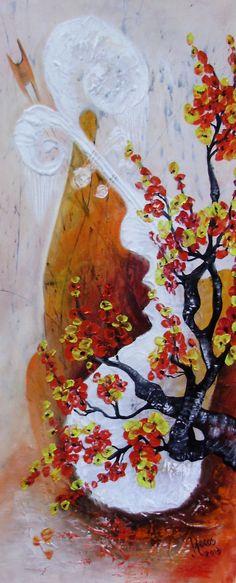 Flowers Oil Painting On Canvas, Flowers, Art, Kunst, Royal Icing Flowers, Flower, Florals, Bloemen, Blossoms
