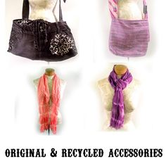 """Artist: Jenn Ellison - """"Accessories created from new and recycled materials."""""""