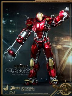 Marvel Studios´ IRON MAN 3 introduced a multitude of new suits. Meet one of new...