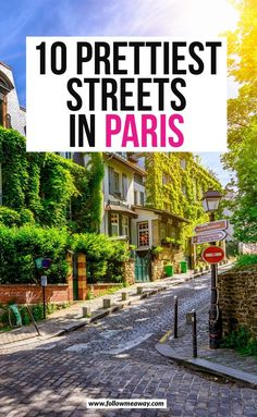 travel 10 Of The Most Charming Streets In Paris + Map To Find Them These are the top charming streets in Paris you must see! These secret Paris streets are off-the-beaten-path and we include a map to help you find them! Europe Travel Guide, Europe Destinations, Travel Tips, Travel Ideas, Paris 3, Paris France, European Vacation, European Travel, Paris Travel