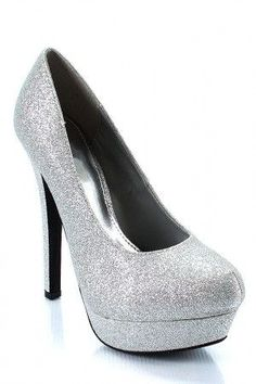 Sparkles. Fun shoe for prom!
