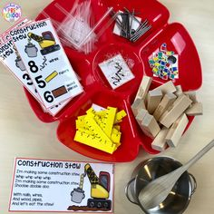 Construction Stew! Counting brews and stews is a FUN, hands-on way to develop counting concepts and skills with preschool, pre-k, tk, and kindergarten students!