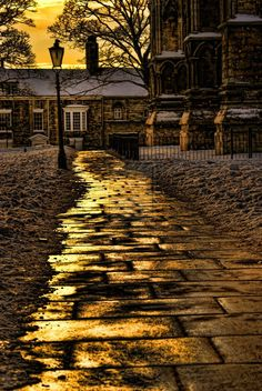 Lincoln Cathedral Path by TheBaldingOne