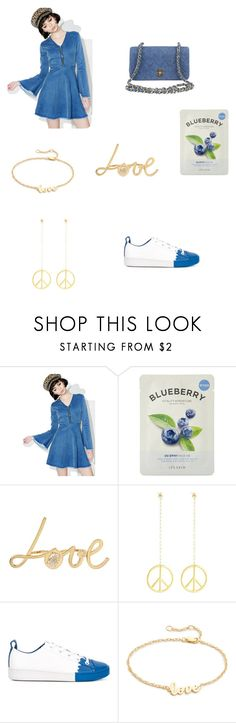 """""""Minimalist style"""" by amythystrose ❤ liked on Polyvore featuring Valfré, Forever 21, Betsey Johnson, DKNY, Jennifer Zeuner and Chanel"""